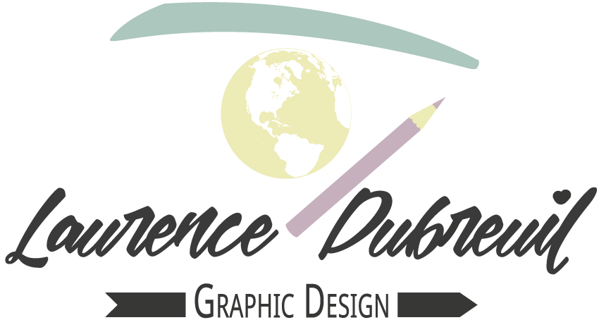 Logo Laurence Dubreuil - Graphic Design